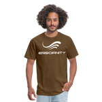 ERGOFINITY™ Men's T-Shirt Classic Light - brown