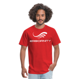 ERGOFINITY™ Men's T-Shirt Classic Light - red