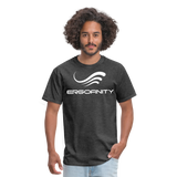 ERGOFINITY™ Men's T-Shirt Classic Light - heather black
