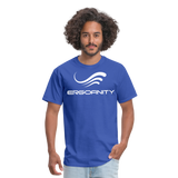 ERGOFINITY™ Men's T-Shirt Classic Light - royal blue