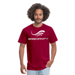 ERGOFINITY™ Men's T-Shirt Classic Light - dark red