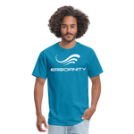 ERGOFINITY™ Men's T-Shirt Classic Light - turquoise