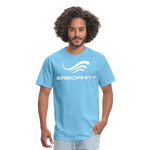 ERGOFINITY™ Men's T-Shirt Classic Light - aquatic blue