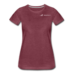ERGOFINITY™ Women's T-Shirt Premium Light - heather burgundy