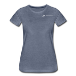 ERGOFINITY™ Women's T-Shirt Premium Light - heather blue