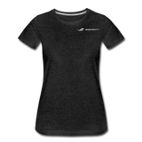 ERGOFINITY™ Women's T-Shirt Premium Light - charcoal gray