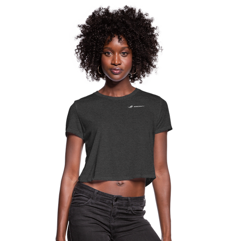 ERGOFINITY™ Women's T-Shirt Cropped - deep heather