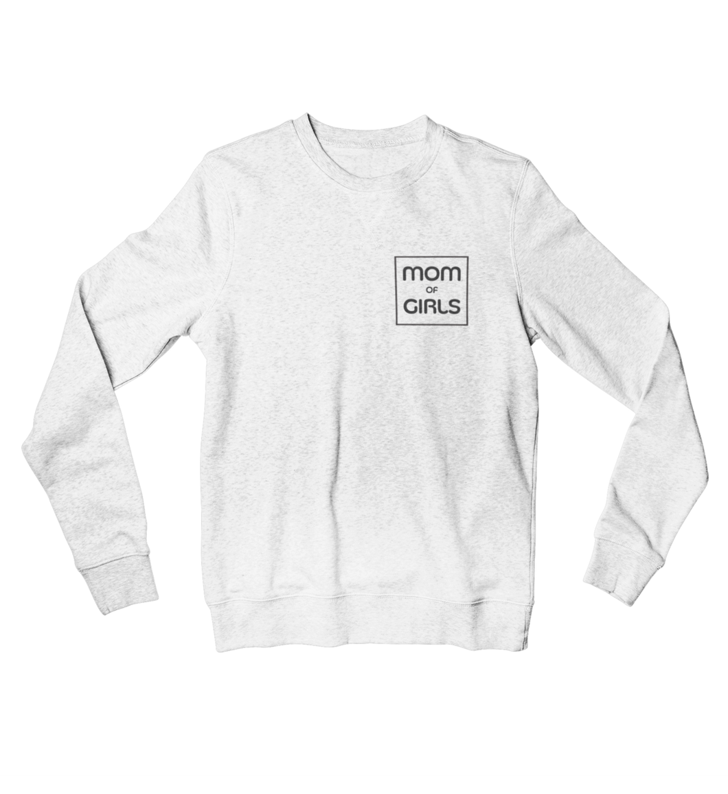 MOM OF GIRLS - Organisches Sweatshirt Damen