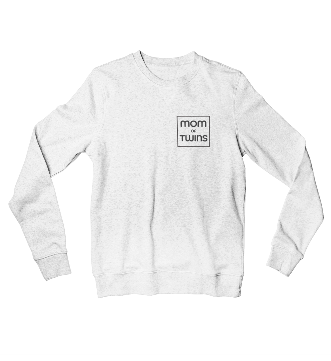 MOM OF TWINS - Organisches Sweatshirt Damen