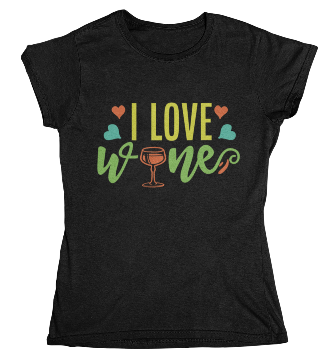 i love wine - T-Shirt Frauen