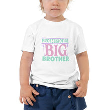 "Lade das Bild in den Galerie-Viewer, T-Shirt für Zwillinge ""professional big brother"""