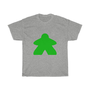 Green Meeple Heavy Cotton Tee T-Shirt
