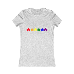 Meeple Rainbow Women's Favorite Tee