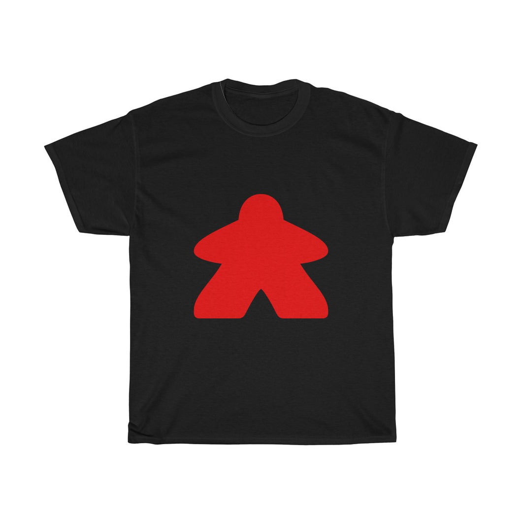 Red Meeple Heavy Cotton Tee T-Shirt