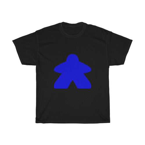 Blue Meeple Heavy Cotton Tee T-Shirt