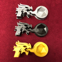 Load image into Gallery viewer, Dragon d20 Holder for Dungeons and Dragons, Magic the Gathering, and other games that use a d20.