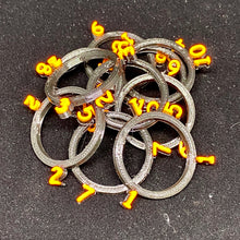 Load image into Gallery viewer, Dungeons and Dragons 5e Condition Rings - 3d Printed