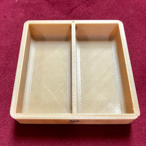 Interlocking Game Piece Trays: Square Tiles for Board Games - Set of 4