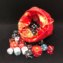 Load image into Gallery viewer, Velvet Dice Bag