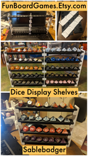 Load image into Gallery viewer, Dice Display Shelves