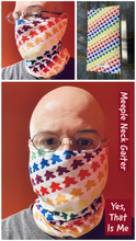 Load image into Gallery viewer, Meeple Neck Gaiter -  Black