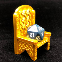 Load image into Gallery viewer, Dice Throne -  Celtic Knot work and Gothic Styles - Dungeons and Dragons - Well Behaving Dice