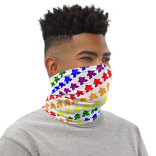 Load image into Gallery viewer, Meeple Neck Gaiter - White
