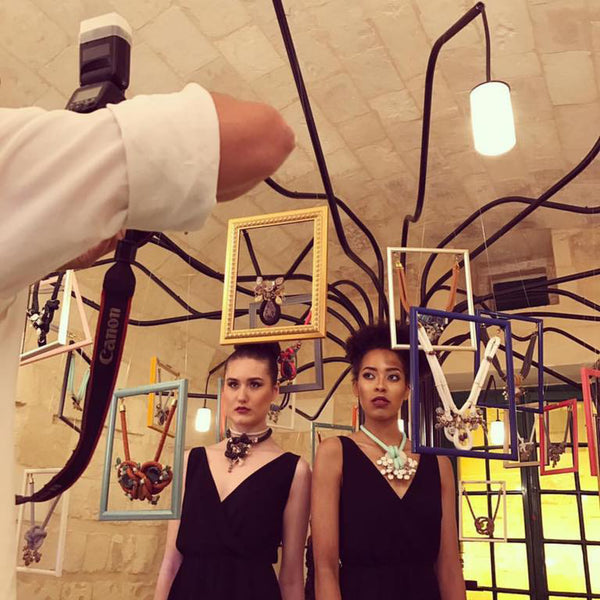 Yana's Jewellery, Mystical Branches Exhibition at Malta Fashion Week 2017