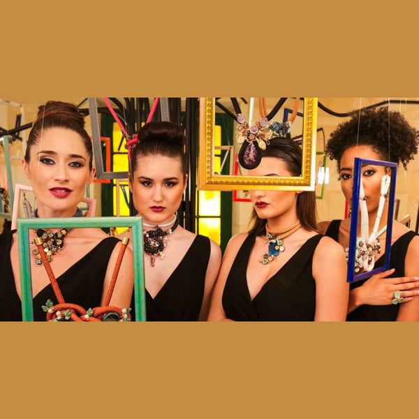 Yana's Jewellery Mystical Branches Exhibition at Malta Fashion Week