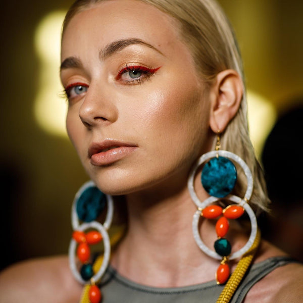 Yana's Jewellery Fashion Week 2019 model photos