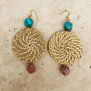 **Sale** Earring Rattan collection