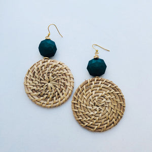 Woven earring collection