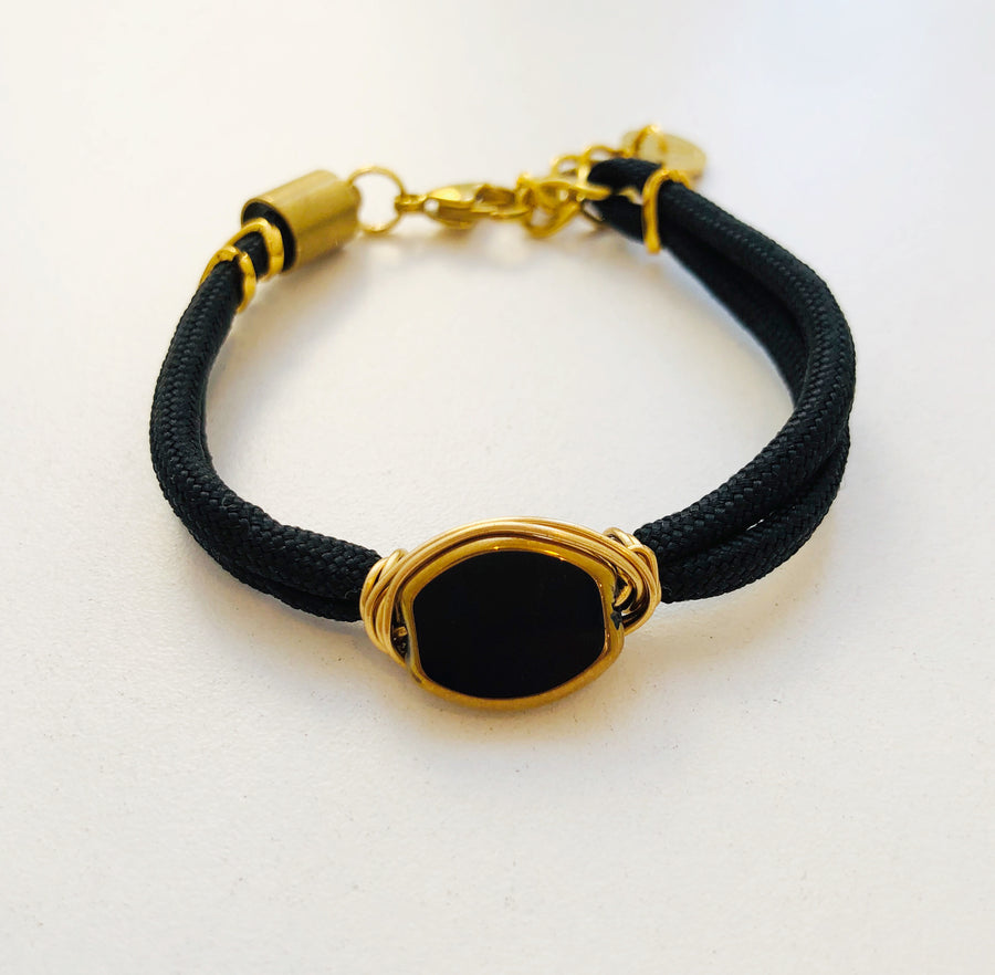 Golden Eclipse bracelets