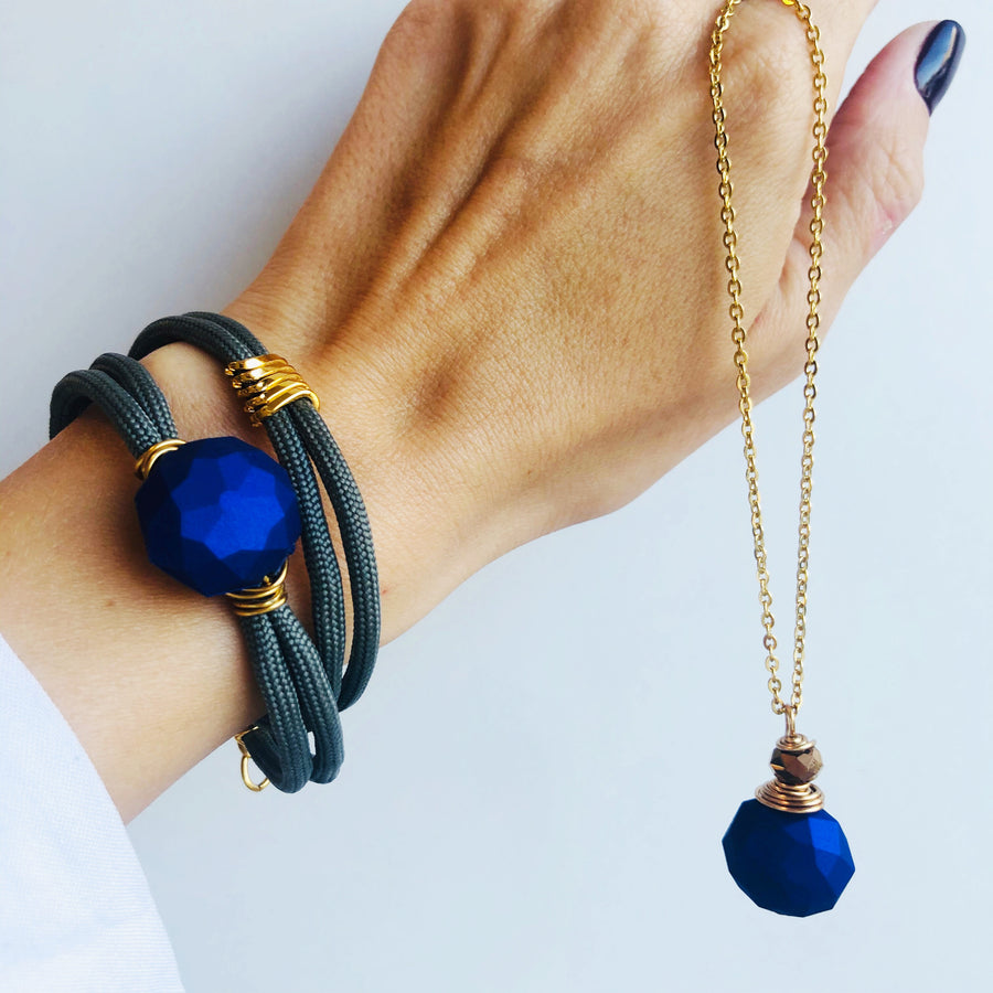 Cobalt blue duo (sold separately)