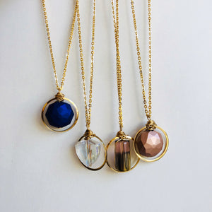 Stainless steel loop necklaces