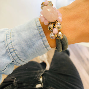Denim & Rose wrapover bracelet
