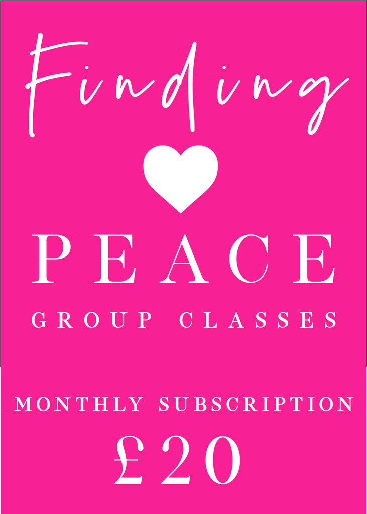 Finding Peace Group Class - Monthly Subscription