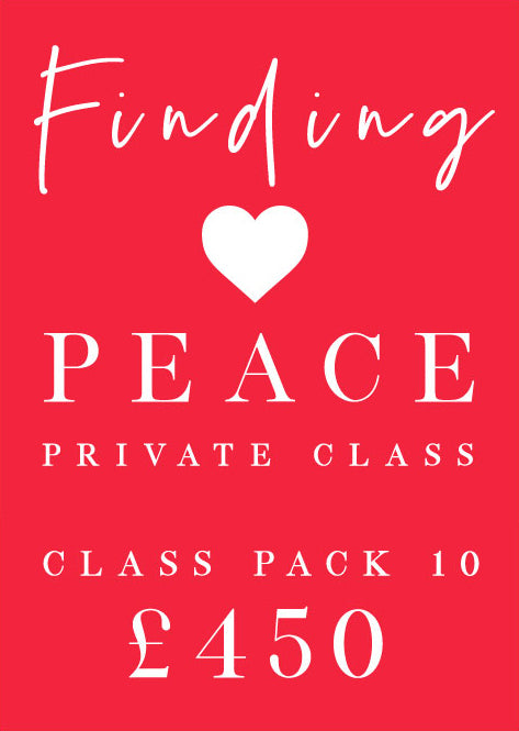 Finding Peace Private Class Pack 10