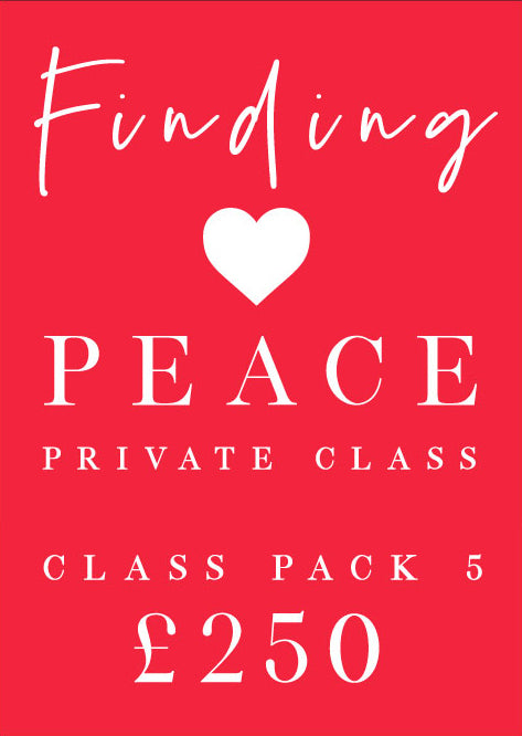 Finding Peace Private Class Pack 5
