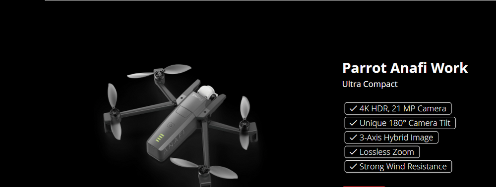PARROT ANAFI WORK 4K DRONE SOLUTION