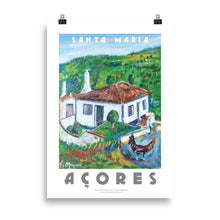 Load image into Gallery viewer, Santa Maria, Azores, Poster