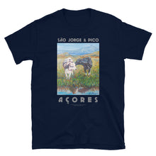 Load image into Gallery viewer, São Jorge & Pico, Azores, Unisex T-Shirt