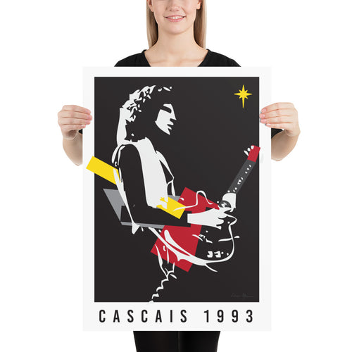 Brian May in Cascais 1993 Poster