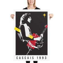 Load image into Gallery viewer, Brian May in Cascais 1993 Poster