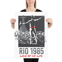 Load image into Gallery viewer, Queen in Rio de Janeiro 1985, Poster