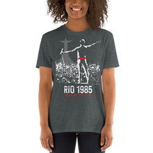 Load image into Gallery viewer, Queen in Rio de Janeiro, 1985 Unisex T-Shirt