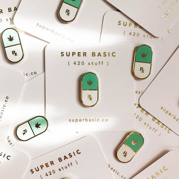 Mary Jane pins from Super Basic
