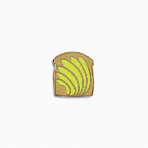 Avocado Toast Pin (Light)