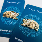 Captain Trash Wheel Pin