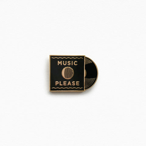 Music Please Pin